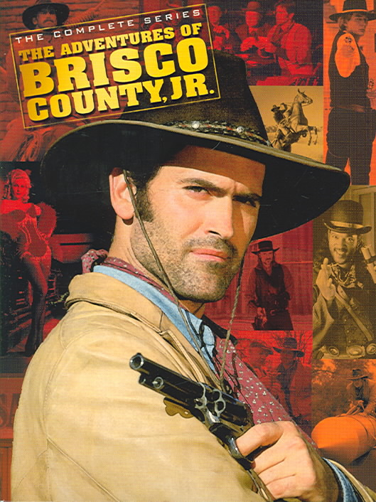 ADVENTURES OF BRISCO COUNTY JR:COMPLE BY CAMPBELL,BRUCE (DVD)